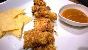 Chicken Nuggets gegrillt mit Curry Sauce 2 (Medium)