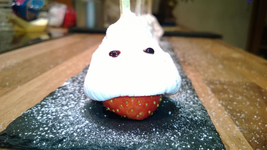 Erdbeeren mit Marshmallow 9