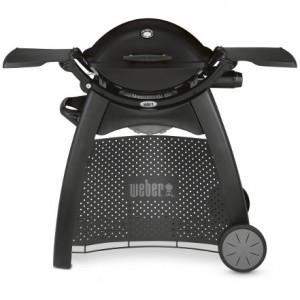 6525P14 2014 Weber Q2200 Gas Grill With Cart Premium Product Straight On