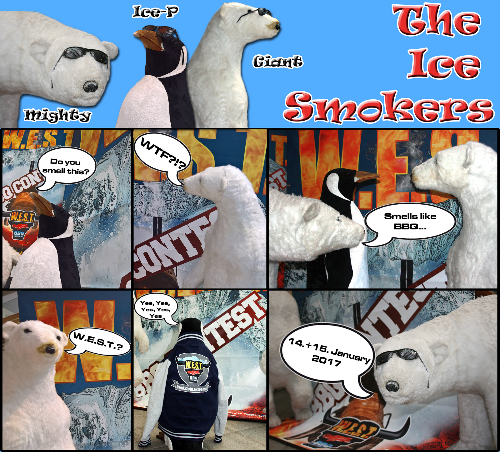 The Ice Smokers