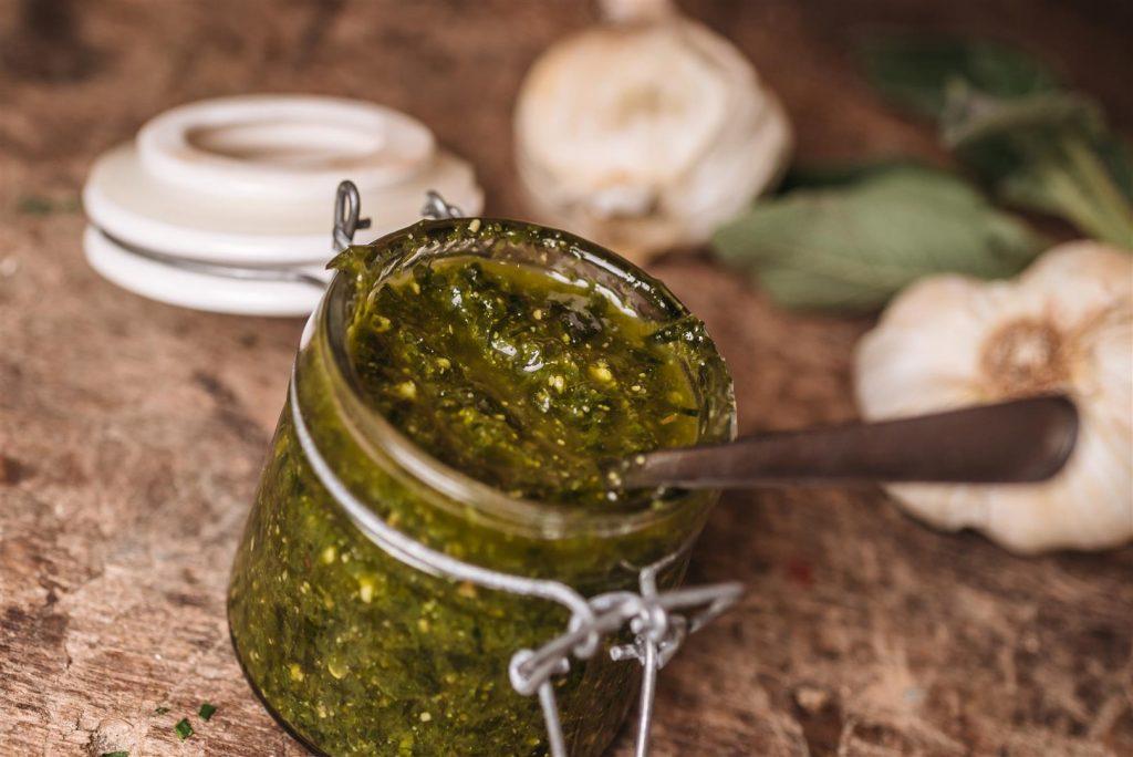 Pesto all'aglio orsino